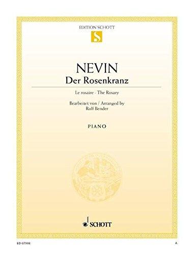 Der Rosenkranz: Klavier (mit Text). (Edition Schott Einzelausgabe)