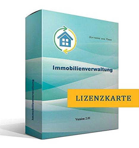 Immobilienverwaltung [nur Lizenzschlüssel, ohne Datenträger]
