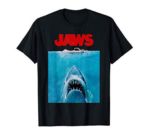 Jaws Oversize Poster Camiseta
