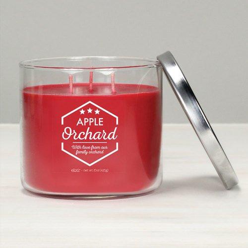 GOOSE CREEK Elixir Bougie parfumée Jar Glas 3 mèches pour Apple Orchard 425 g