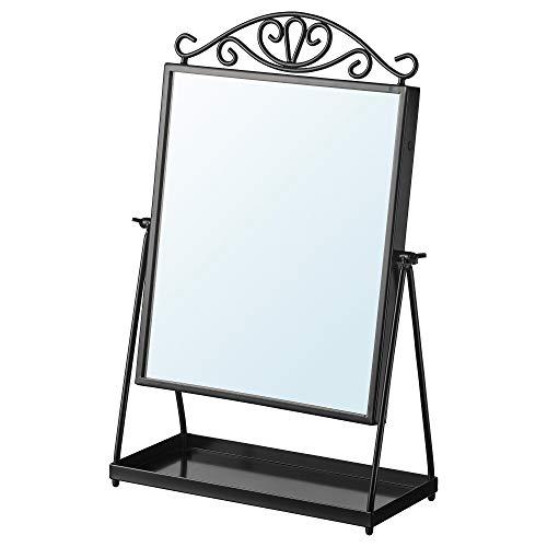 IKEA 002.949.79 Karmsund - Espejo de Mesa, Color Negro