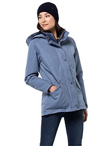 Jack Wolfskin Park Avenue Hardshell Veste Jacket, bluewash, XL Womens