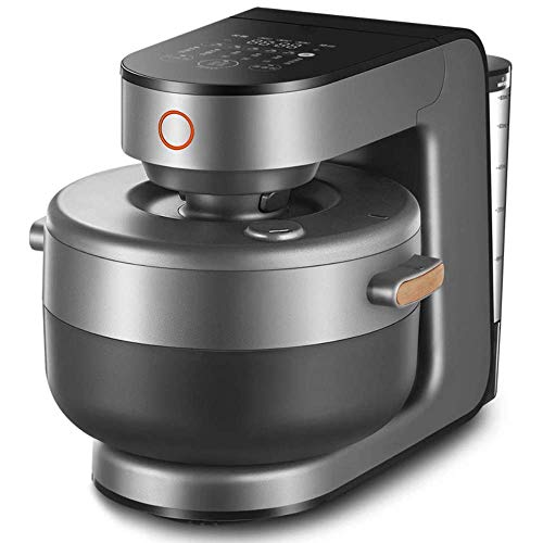 MissZZ Programmierbarer Reiskocher Multi 4L Digital Low Removal Zuckerkornhersteller Food Steamer Intelligenter Stewpot Doppelter Edelstahltopf, 24 Stunden voreingestellt und sofort warm halten