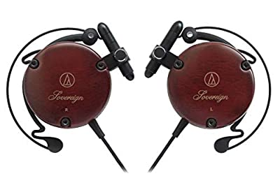 オーディオテクニカ audio-technica ウッドハウジング 耳掛け式 オンイヤーヘッドホン ATH-EW9 密閉型