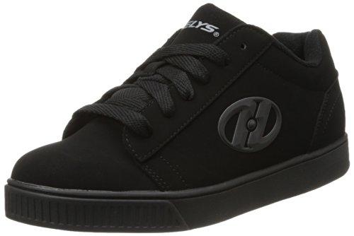 HEELYS Heelys Straight Up Skate Shoe (Toddler/Little Kid/Big Kid), Black, 3 M US Little Kid