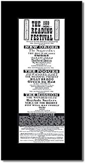 Best reading festival 1989 poster Reviews