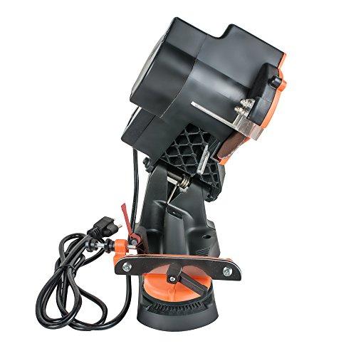 Lolicute Electric Grinder Chain Saw Bench Sharpener Vise Mount W/Grind Chainsaw Wheel 110V