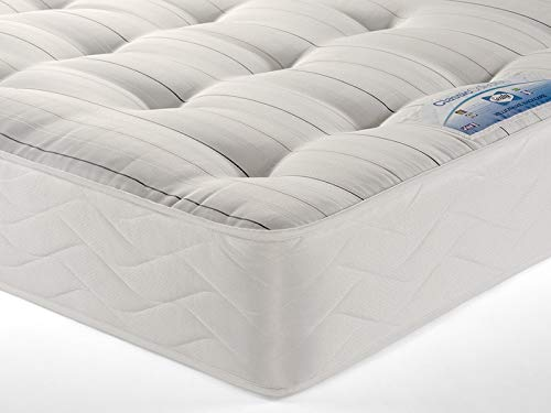 Sealy Posturpedic Millionaire Backcare Firm Ortho Spring Tufted Tencel Mattress - Double (135 x 190 cm)