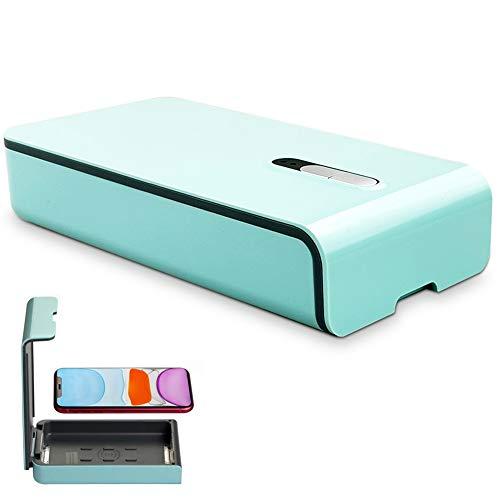 QFXFL Téléphone Stérilisateur, Multi-Fonction Aromathérapie Portable UV Stérilisateur Box pour Les Bijoux Montres XD46 Brosse À Dents