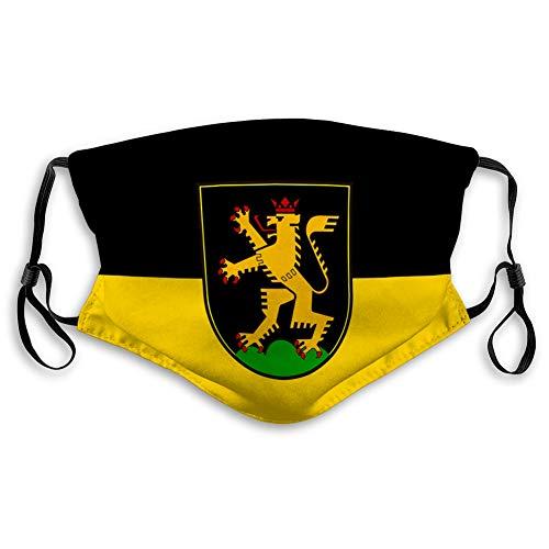 Walnut Cake Mundschutz Wiederverwendbarer Unisex Einstellbarer Schutz Mit Resist Flagge von Heidelberg in Baden Württemberg Deutschland One Size