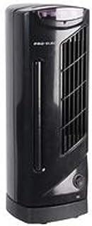 Pro Elec PEL01203 - Mini ventilador de torre de 14 pulgadas con 3 velocidades y función oscilación, color negro