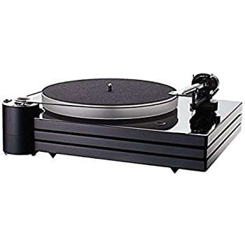 Amazon Com Music Hall Mmf9 3 Turntable With 1 Piece Carbon Fiber Tonearm Triple Plinth Dust Cover Home Audio Theater