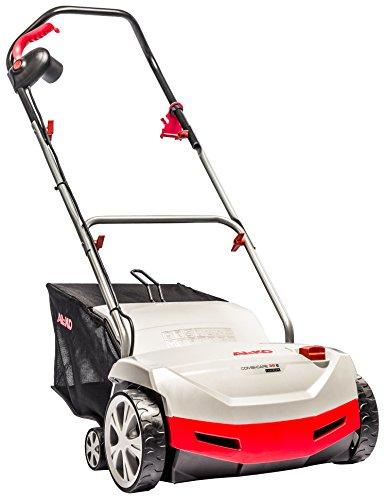 AL-KO Elektro-Vertikutierer Combi Care 38 E Comfort (38 cm Arbeitsbreite, 1300 Watt Motorleistung, Arbeitstiefe 5-fach zentral verstellbar, inkl. stabiler Vertikutierwalze, Lüfterwalze und großem Fangsack, für Rasenflächen bis 800 m²)