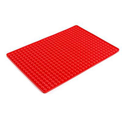Dasing Ball Baking Mat Silicone Oil Filter Pan Multi-Function Pizza Mat BBQ Mat -wave Oven Mat Place Mat
