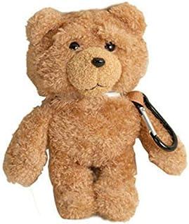 for Airpods Case, Bear Plush Doll Cute 3D Cartoon Airpods 1&2 Gen Cover Hooks Button Rechargeable Earphone Headphone case,...