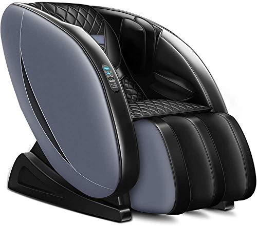 SISHUINIANHUA Massagesessel 4D Elektrofach Massage und Relax-Sessel, Freizeit-Stuhl, Intelligent Air Massagers - Zero Gravity - Wärme-Massage im Rücken