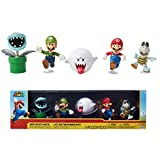 SUPER MARIO 2.5' Action Figure - Boo Mansion 5 Pack