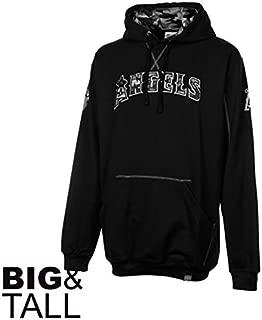 Majestic Los Angeles Angels of Anaheim Catchers Box Black/camo Hoodie Sweatshirt Big Sizes