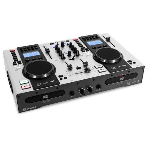 Skytec STX-95 Controlador DJ Doble Reproductor: CD, US, MP3