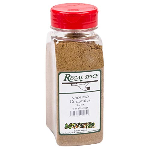 Regal Herbs, Spices, Seasoning 8 ounce (Ground Coriander)