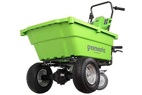 Greenworks–40V Akku-der Sackkarre 106L, ohne Akku und Ladegerät