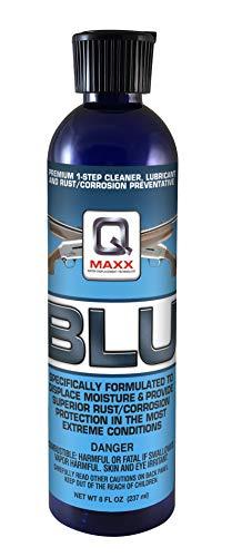 QMAXX BLU Turret Top Bottle 8 OZ