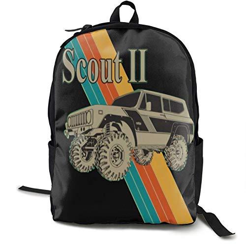 Scout Ii Mochila estampada ligera bolsa de hombro