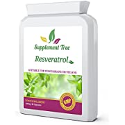Resveratrol 150mg 90 Vegetarian Capsules | High Strength Trans-Resveratrol from 98% Standardised Japanese Knotweed | UK Manufactured