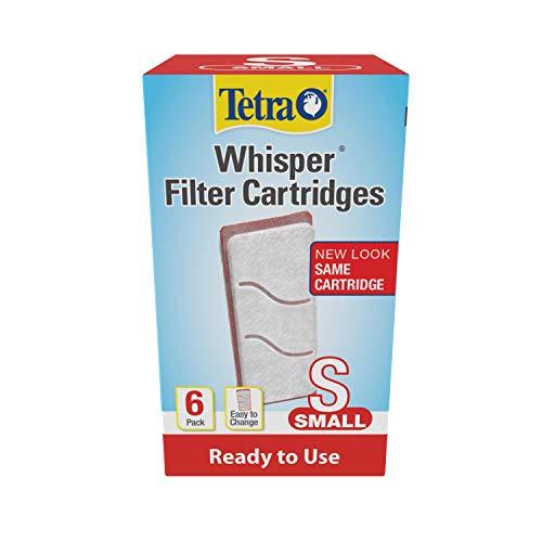 Tetra Whisper Filter Cartridges 6 Count, Small, For aquarium Filtration (19550)