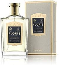 Floris London White Rose Eau De Toilette for Women, 3.4 Ounce