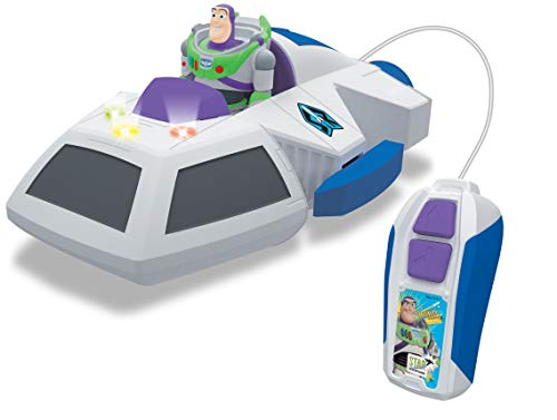 Dickie Toys- Toy Story 4 Nave Buzz RC por Cable, Multicolor (3153000)