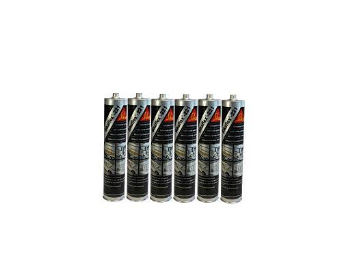 6x Sikaflex -221 Dichtstoff Karosseriedichtmasse Spoilerkleber Uniweiss