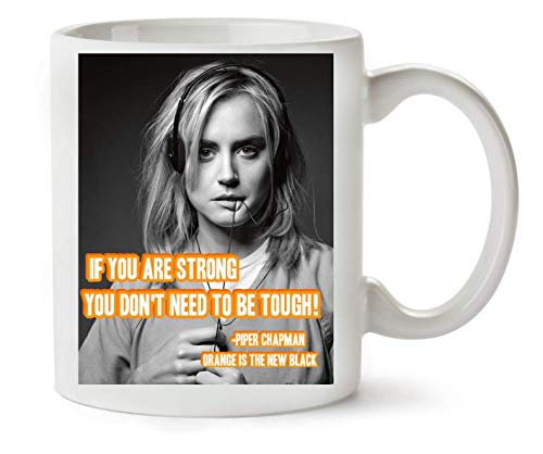 George Graphics Orange is The New Black Quote Klassische Teetasse Kaffeetasse