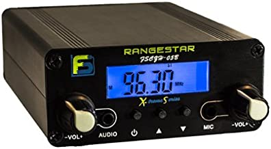 0.5 W Fail-Safe Long Range FM Transmitter - FS CZH-05B - Newly Revised: Dual Mode now with RCA Inputs