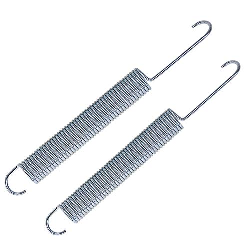 YOOGU 6 1/4 inch Replacement Recliner Sofa Chair Mechanism Tension Springs (Pack of 2) Long Neck Hook Style