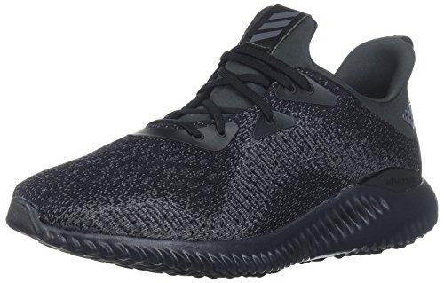 adidas Men's Alphabounce Em m, Core Black/Night Metallic/Carbon, 9 Medium US