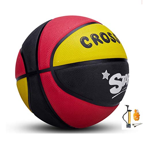 Amazing Deal YE ZI Basketballs- Children's Rubber wear-Resistant Basketball NO.5-6-7 Indoor and Outd...