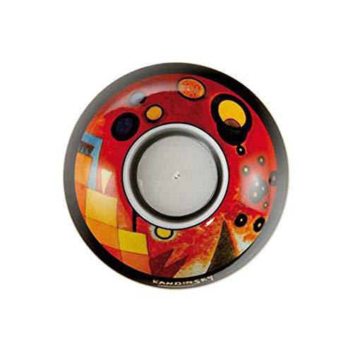 Preisvergleich Produktbild Goebel Schweres Rot - Teelicht Artis Orbis Wassily Kandinsky Bunt Porzellan 67100191
