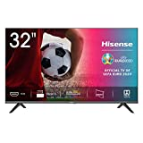 Hisense 32AE5000F - TV, Resolución HD, Natural Color Enhancer, Dolby Audio, HDMI, USB, Salida auriculares, TV HD 2020, 32'