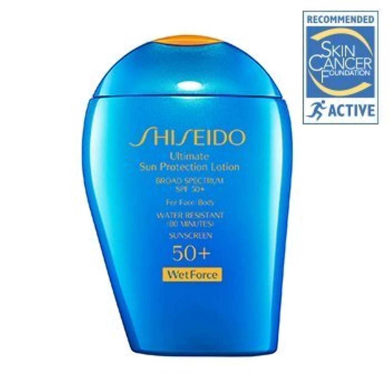 加害者テロリストベギンShiseido Ultimate Sun Protection Face & Body Lotion Spf 50 Pa+++ 100Ml/3.4Oz by Shiseido [並行輸入品]