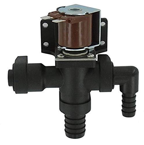 Jabsco 37038-1012 Réparation de Toilettes Marines à tête solénoïde/vanne Anti-yphon 12 V