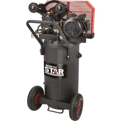 NorthStar Single-Stage Portable Electric Air Compressor - 2...