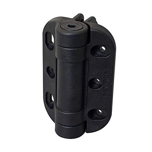 LockeyUSA SUMO SSCHD Bisagras ajustables de autocierre SafeClose para puerta de servicio pesado