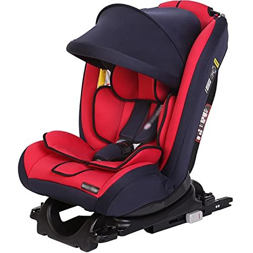 ZTHL Asiento de Seguridad para niños para niños, Asiento para bebés, Asiento Infantil IK-05, Sentado bidireccional y reclinable, Interfaz Dura ISOFIX Adecuada para Edades de 0 a 12 años de Edad