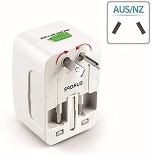 Tool Parts Portable UK US AU To EU European Power Socket Plug Adapter Travel Converter