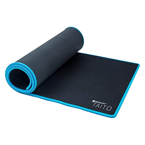 ROCCAT Taito Control Wide XXL Gaming Mousepad, 860 X 330 X 3.5 mm, Black/Blue ROC-13-172