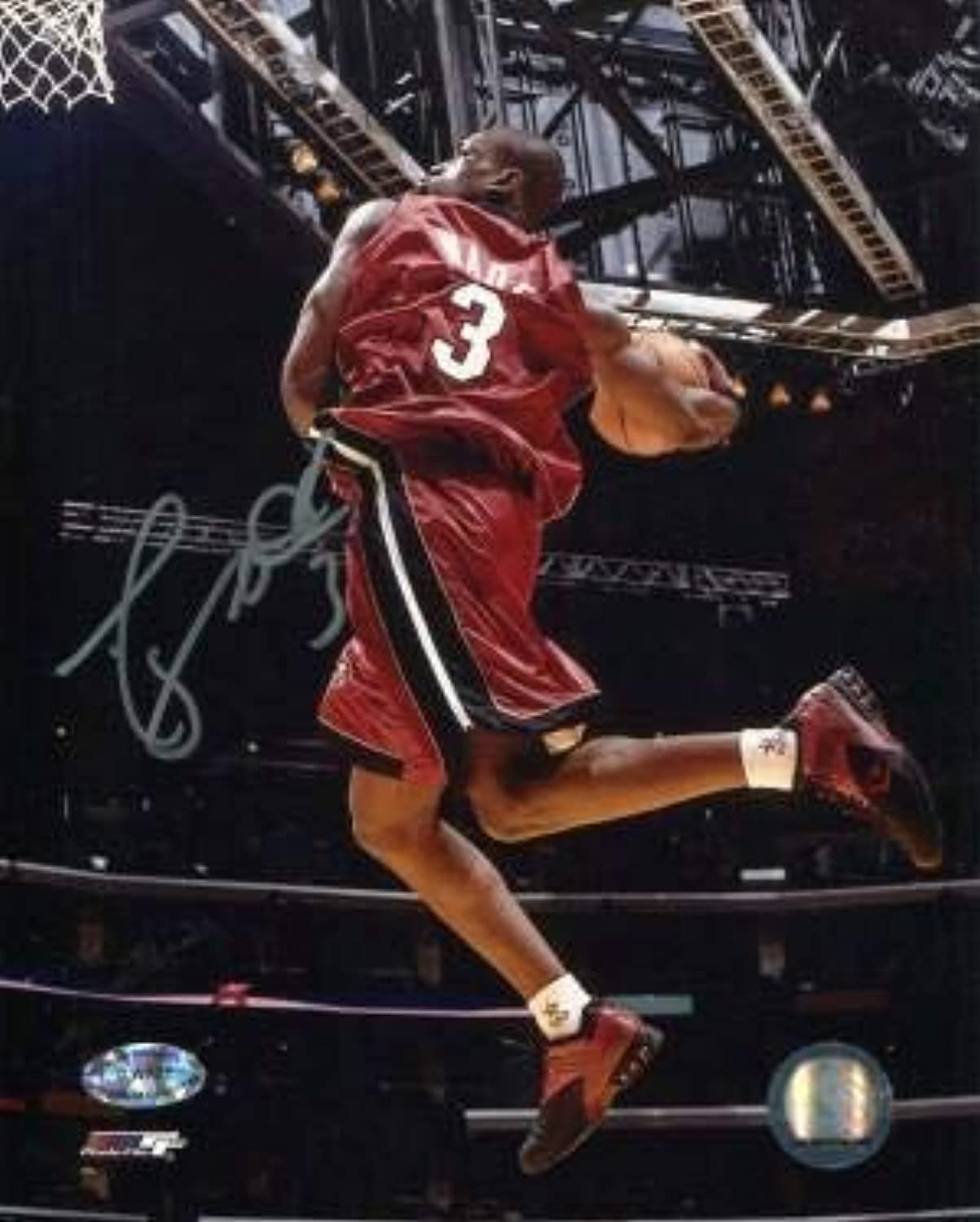 Autographed Wade Photograph  2004 All Star 8x10  Autographed NBA Photos