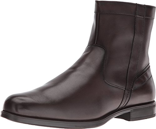Florsheim Midtown Plain Toe Zip Boot Brown Smooth 15