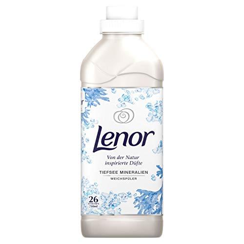 Lenor Weichspüler Flauschige Wäsche, Inspired by Nature, Tiefsee Mineralien, 26 Waschladungen (780 ml)