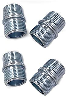 """Gizhome 4 Pack 1""""/25.4mm Diameter Connectors for 0.047""""/1.2mm Thick Wire Shelve Shelving Unit Replacement Storage Shelves ..."""